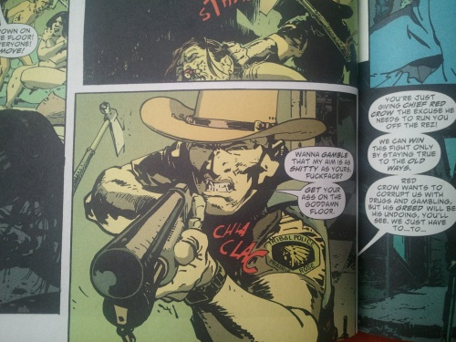 Noir Comics Scalped Dashiell Bad Horse
