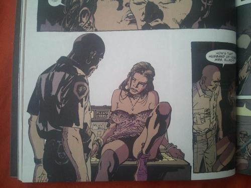 Noir Comics Femme Fatale Carol Red Crow