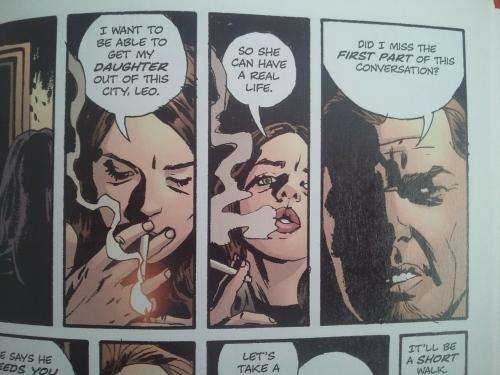 Noir Comics Coward Criminal Femme Fatale Greta