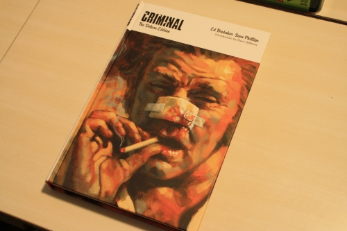 Noir Comics Criminal Deluxe Edition Cover