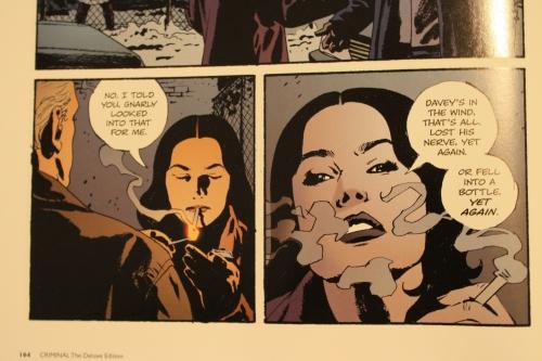 Noir Comics Criminal Lawless Femme Fatale Mallory