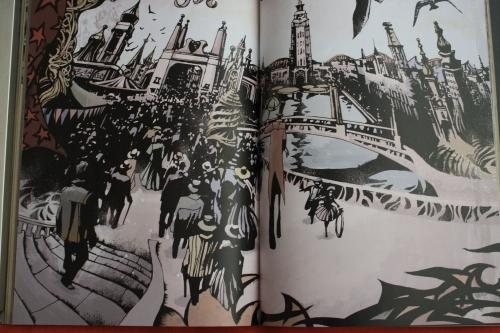Noir Comics Luna Park Crime Travel