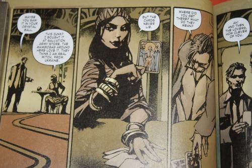 Noir Comics Luna Park Femme Fatale Marina the Gypsy