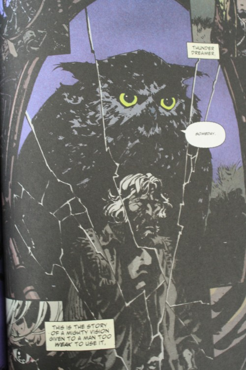 Noir Comics Scalped Casino Boogie Catcher Owl Totem