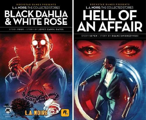 Noir Crime Fiction L.A. Noire Black Dahlia and White Rose-Hell of An Affair