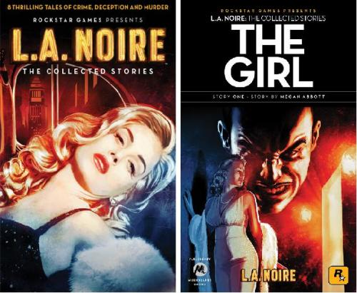 Noir Crime Fiction L.A. Noire L.A. Noire Cover-The Girl
