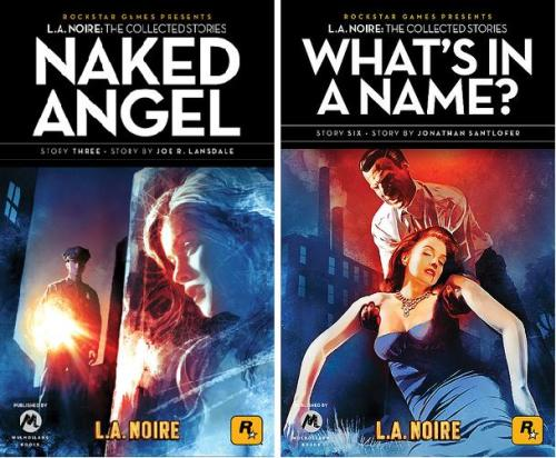 Noir Crime Fiction L.A. Noire Naked Angel-Whats In A Name