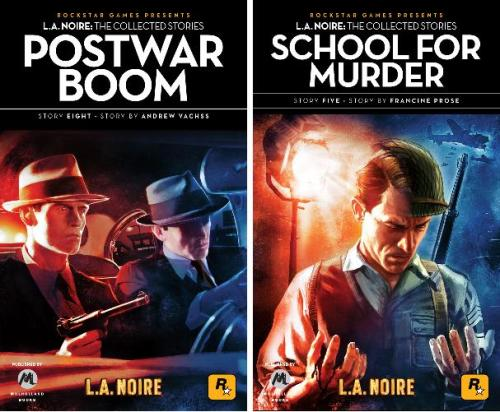Noir Crime Fiction L.A. Noire Postwar Boom-School for Murder