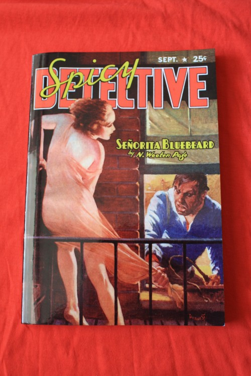 Noir Crime Fiction Spicy Detective September 1938
