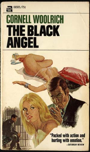 Noir Crime Fiction The Black Angel Pulp Cover