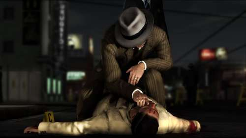 Video Game Noir L.A. Noire Traffic Desk