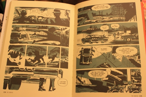 Noir Comics Richard Starks Parker The Hunter Splash Page