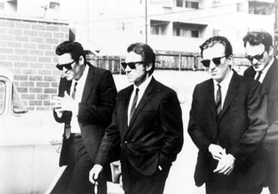 Film Noir Reservoir Dogs Opening Scene