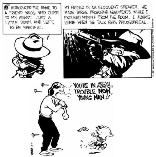 Noir Comics Calvin and Hobbes Part 3
