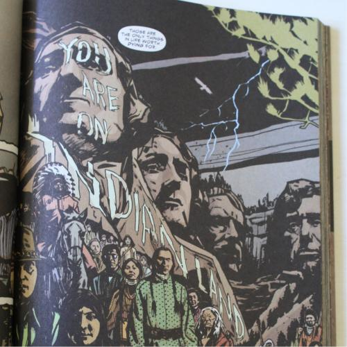 Noir Comics Scalped Dead Mothers Indian Land Page