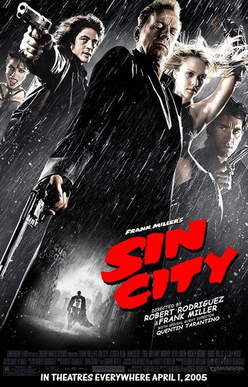 Film Noir Sin City Movie Poster