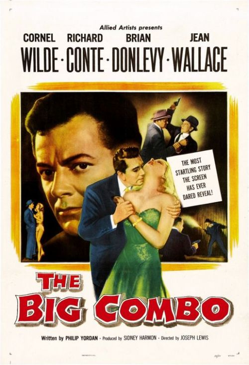 Film Noir The Big Combo Poster