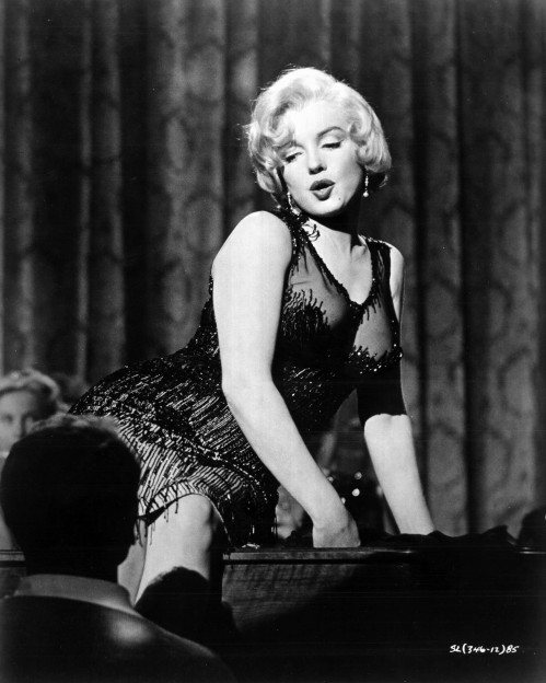 Film Noir Some Like it Hot Marilyn Monroe