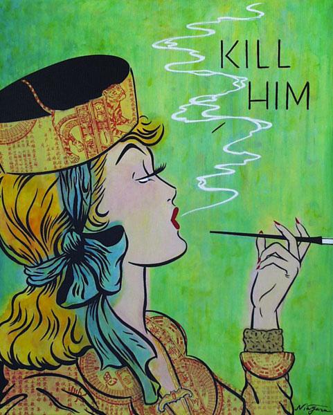 Noir Art Kill Him Niagara Detroit