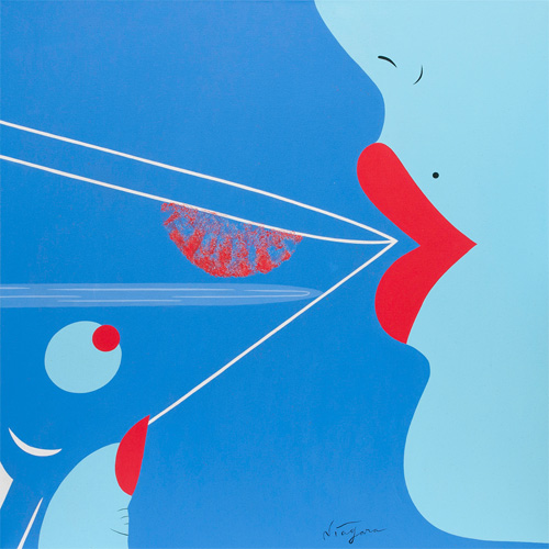 Noir Art Lipstick Traces Niagara Detroit