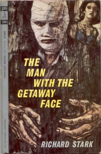 Noir Crime Fiction The Man With The Getaway Face Cover