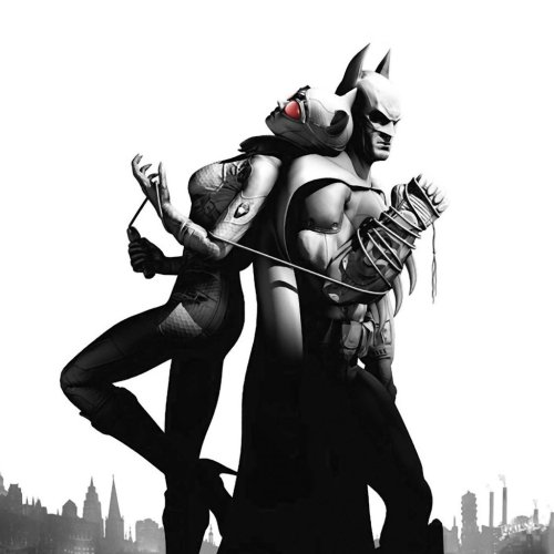 Video Game Noir Batman Arkham City Catwoman