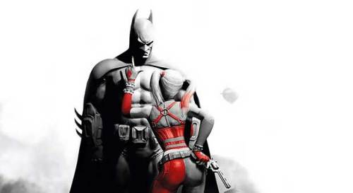 Video Game Noir Batman Arkham City Harley Quinn
