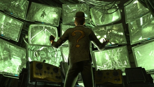 Video Game Noir Batman Arkham City Riddler
