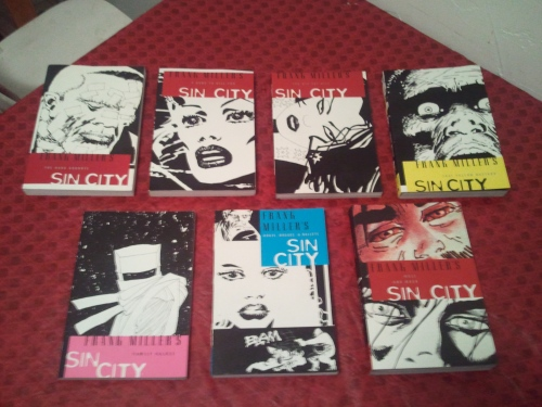 Noir Comics Sin City Collection