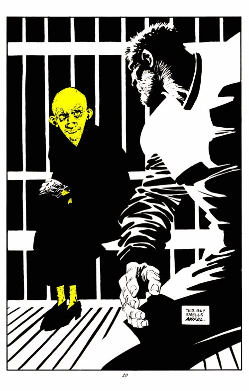 Noir Comics Sin City That Yellow Bastard
