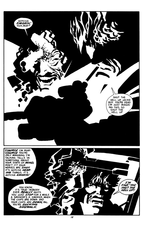 Noir Comics Sin City The Big Fat Kill