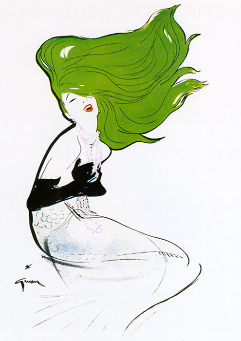 Noir Art Rene Gruau