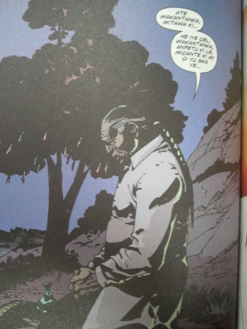 Noir Comics Scalped The Gravel in Your Guts Chief Red Crow
