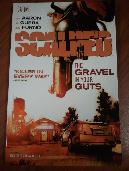 Noir Comics The Gravel in Your Guts Cover