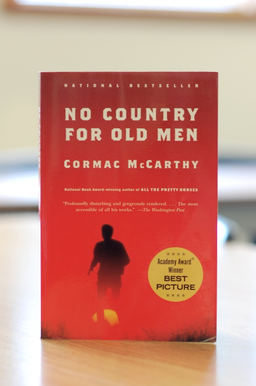 Noir Crime Fiction No Country for Old Men by Cormac McCarthy