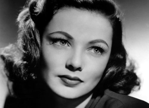 Film Noir Night and the City Gene Tierney