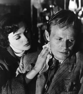 Film Noir Night and the City Richard Widmark Gene Tierney