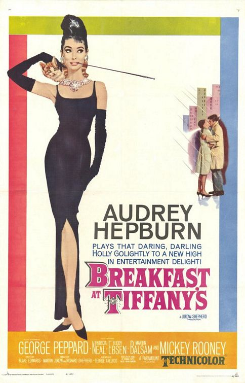 Noir Art Breakfast at Tiffany's Film Poster Robert McGinnis