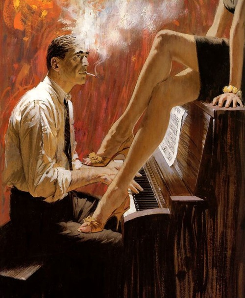 Noir Art Robert McGinnis