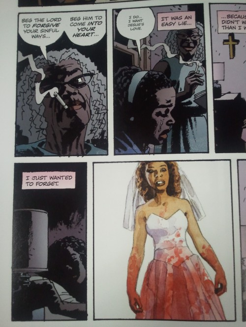 Noir Comics Criminal The Dead and The Dying Female of the Species