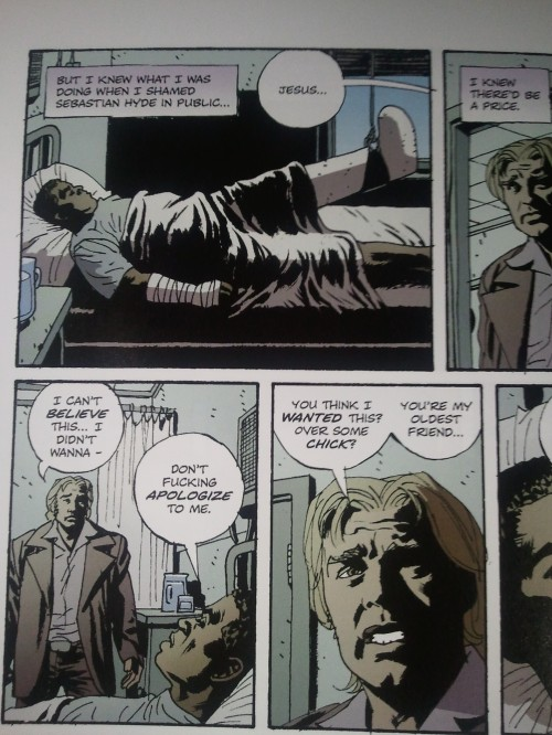 Noir Comics Criminal The Dead and The Dying Second Chance in Hell