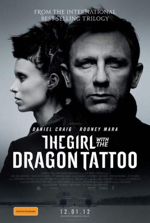 Film Noir The Girl With The Dragon Tattoo Film Poster