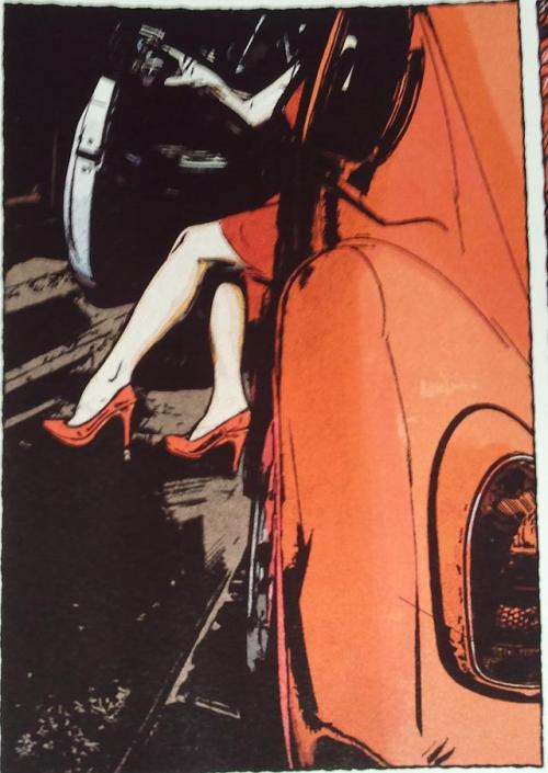 Noir Comics Scarlet by Bendis and Maleev Femme Fatale