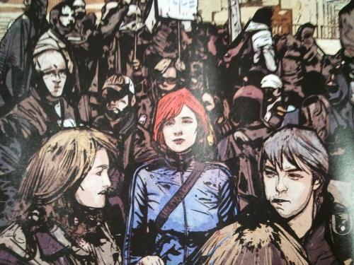 Noir Comics Scarlet by Bendis and Maleev