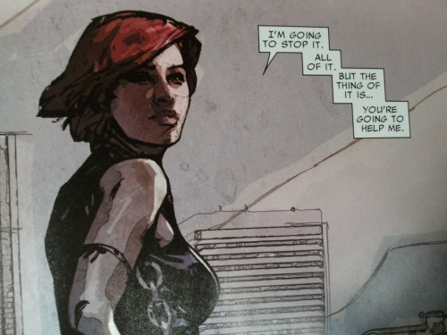 Noir Comics Scarlet by Bendis and Maleev