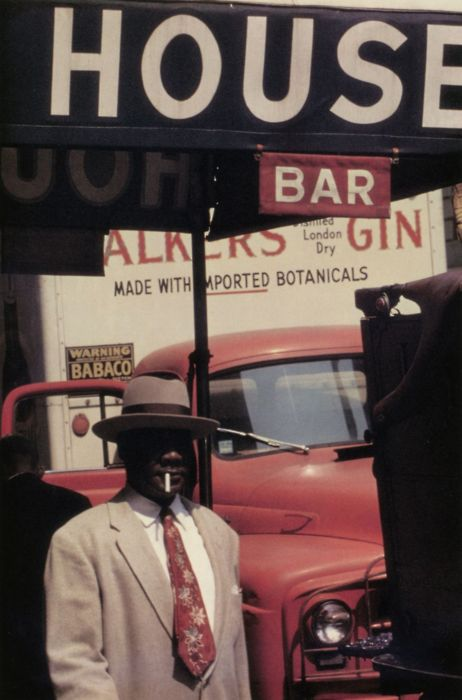 Noir Definition Saul Leiter. Harlem 1960