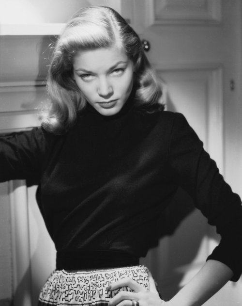 Femme Fatale Lauren Bacall The Look
