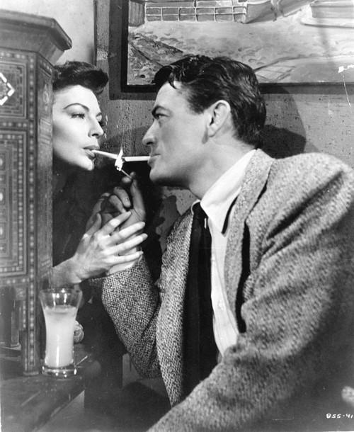 Film Noir Ava Gardner Gregory Peck