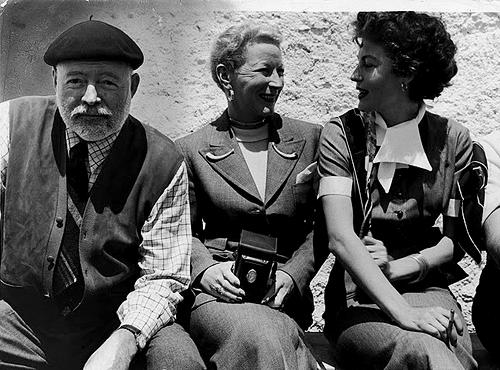Film Noir Ernest Hemingway Mary Hemingway Ava Gardner
