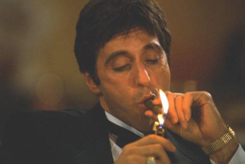 Film Noir Scarface Smoke